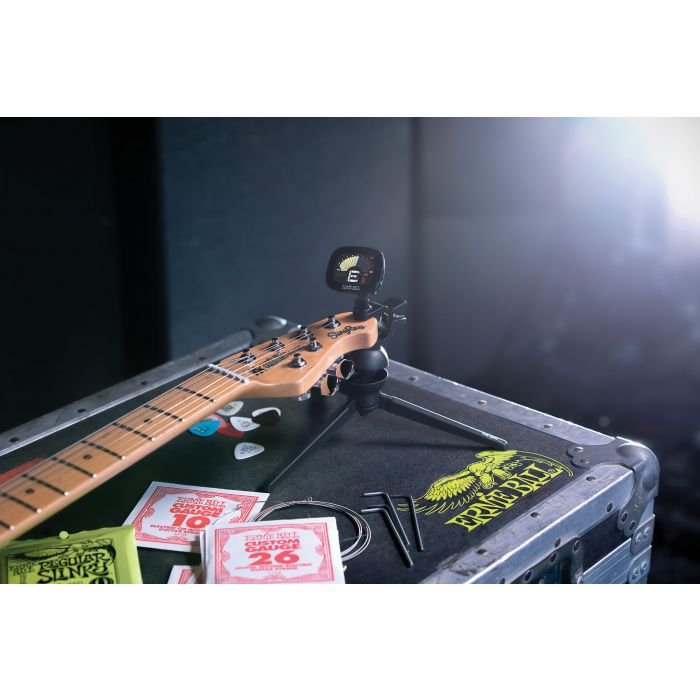 Ernie Ball CradleTune Clip-On Tuner and Neck Cradle At The Venue