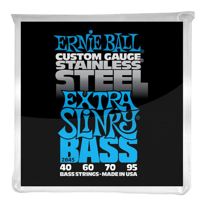 Ernie Ball Extra Slinky Stainless Steel Electric Bass Strings