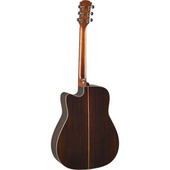 Yamaha A3R ARE Electro-Acoustic Guitar Tobacco Brown Burst Back