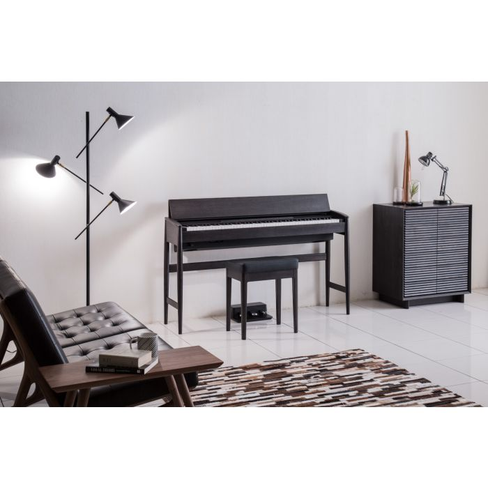 Roland Kiyola KF-10 Digital Piano with Stool Sheer Black In Your House