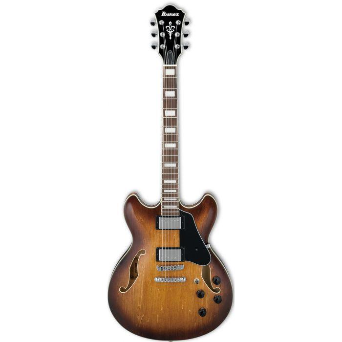 Ibanez AS73 Semi Acoustic Artcore Guitar in Tobacco Brown