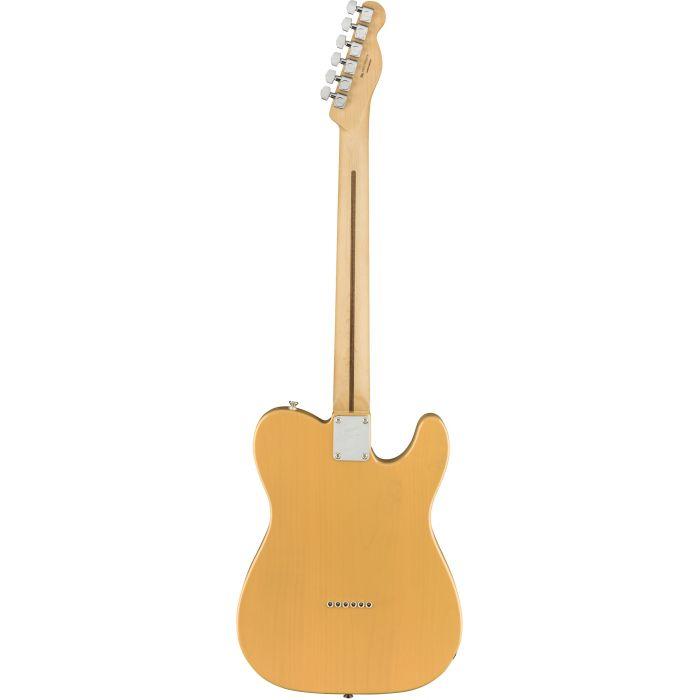 Fender Player Telecaster LH MN Butterscotch Blonde Back