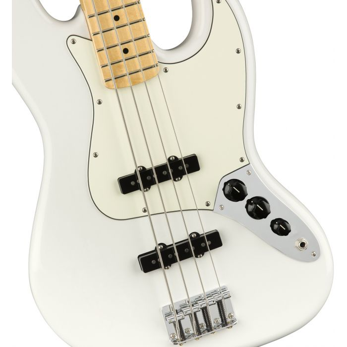 Fender Player Jazz Bass MN Polar White