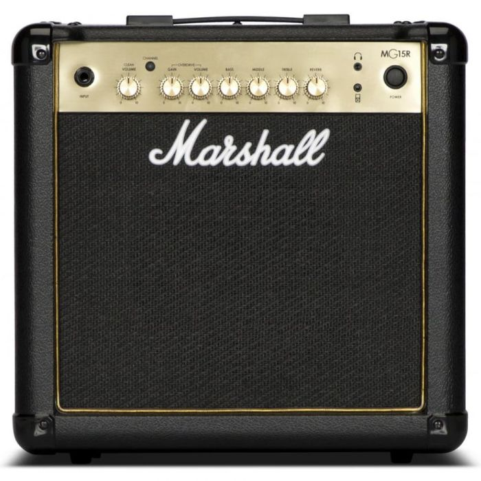 Marshall MG15GR-H 15W Black and gold Guitar Combo with spring reverb