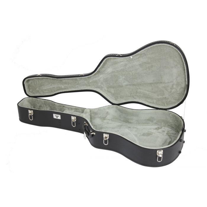 Tour Tech Economy Hard Case for Dreadnought Acoustic Guitar Open