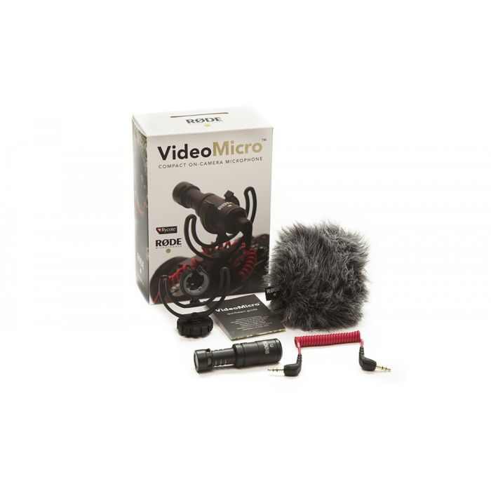 Rode Videomicro Camera Microphone Pack Shot