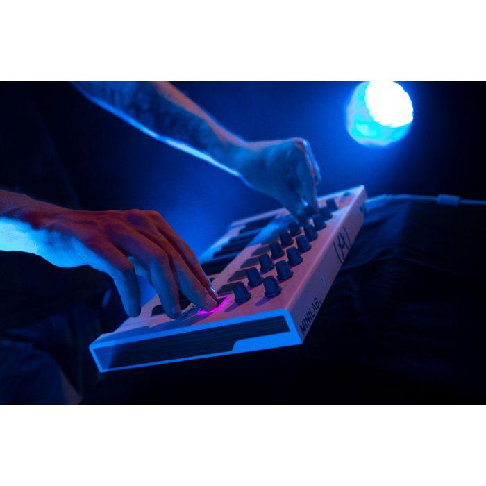 Arturia Minilab Keyboard in Studio