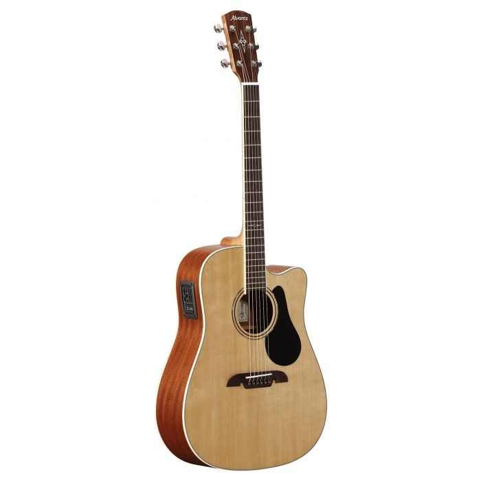 Alvarez AD60CE Dreadnought Electro Acoustic Cutaway Natural Gloss