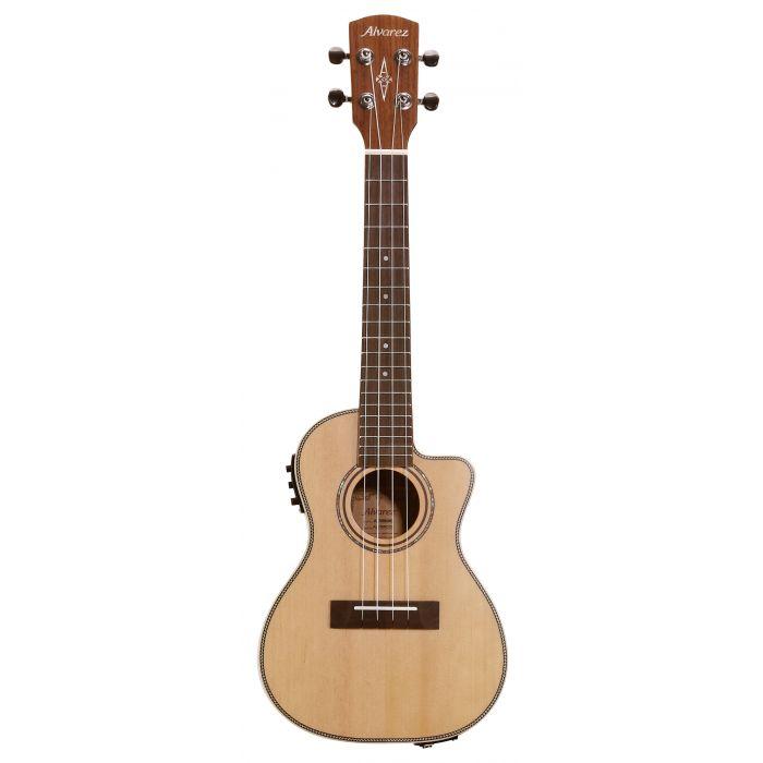 Alvarez AU70WCCE Concert Ukulele Electro Acoustic Natural Satin