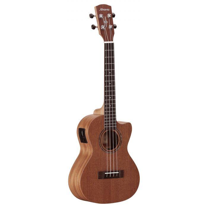 Alvarez RU22TCE Tenor Ukulele Electro Acoustic Natural Satin