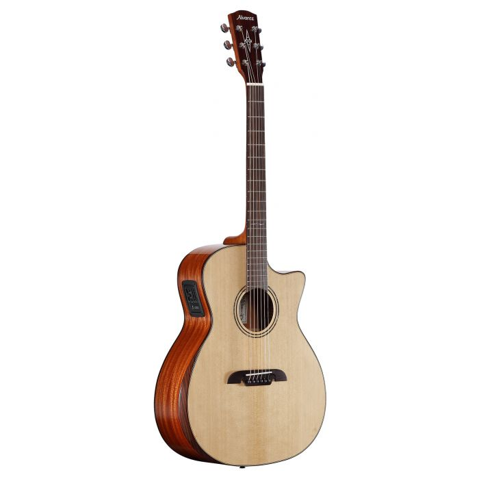 Alvarez AG60CEAR Grand Auditorium Electro Acoustic Cutaway Natural