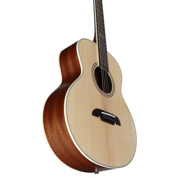 Alvarez LJ2 Little Jumbo Travel Guitars w deluxe Gig Bag