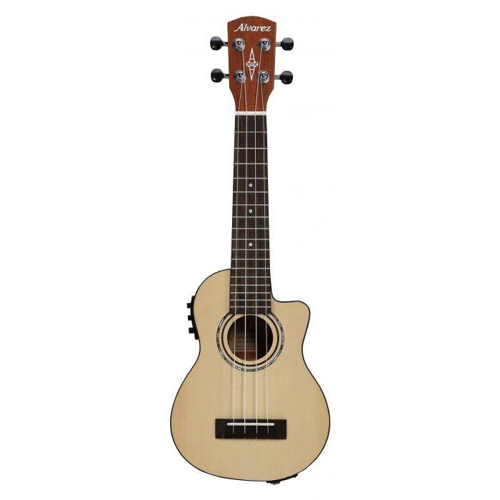 Alvarez RU26SCE Soprano Ukulele Electro Acoustic Natural
