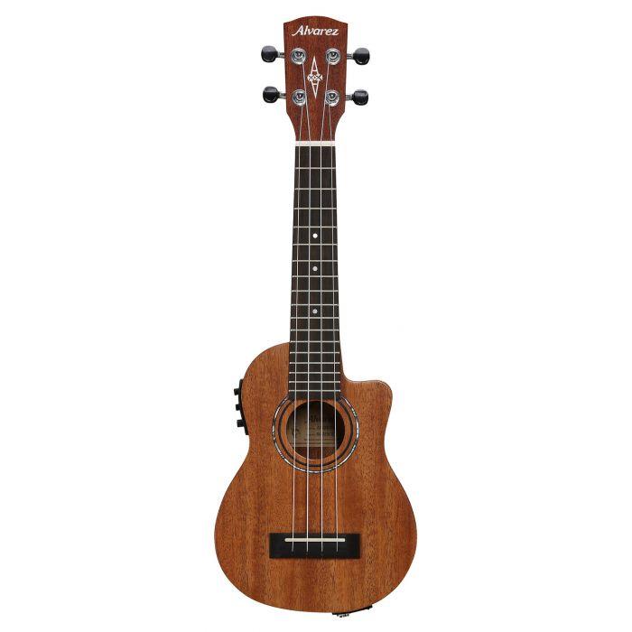 Alvarez RU22SCE Soprano Ukulele Electro Acoustic Natural