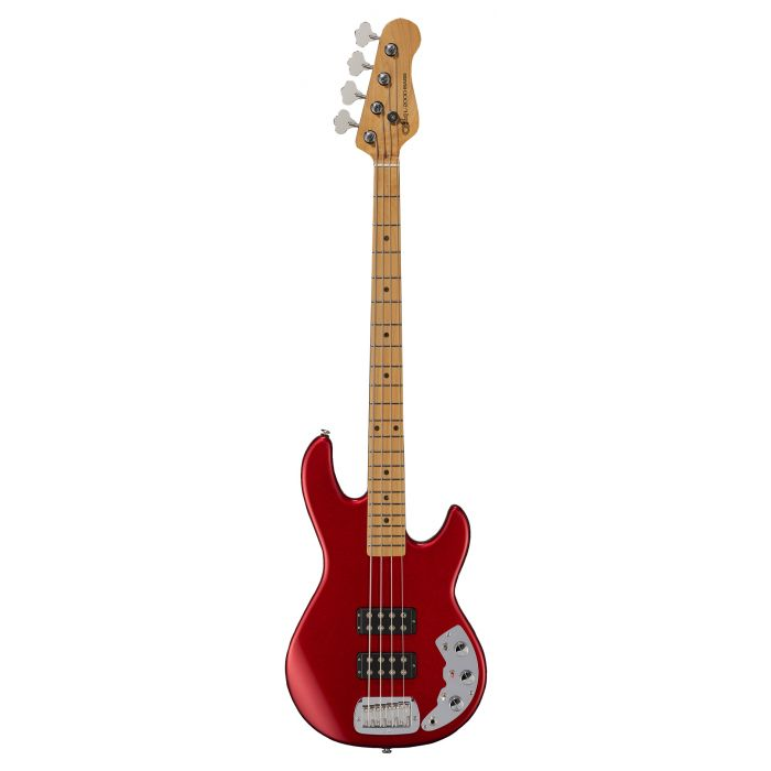 G&L CLF L2000 Bass Guitar Candy Apple Red Basswood MN