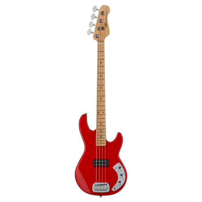 G&L CLF L1000 Bass Guitar Rally Red Basswood MN