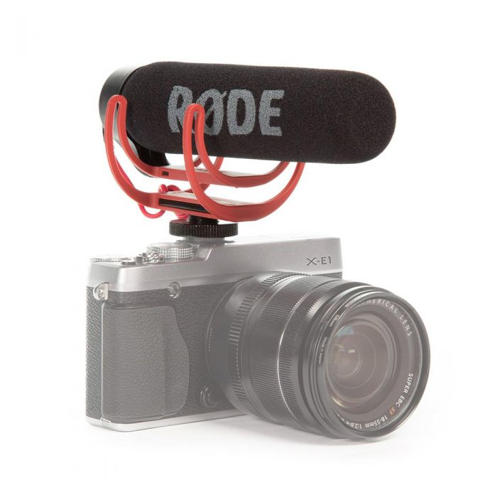 Rode VideoMic GO On-Camera Microphone Mounted On Camera