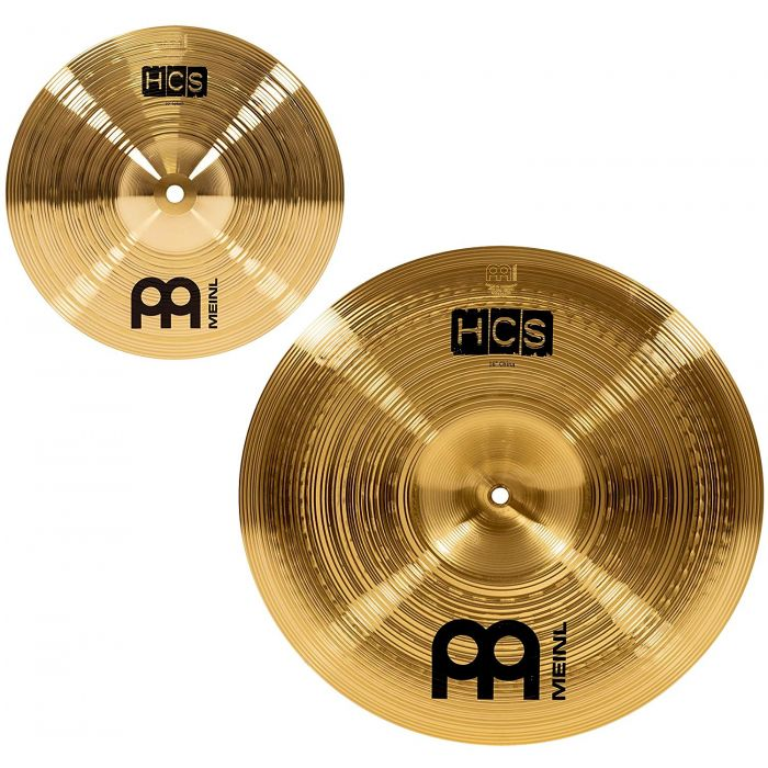 Meinl HCS Splash and China Cymbals