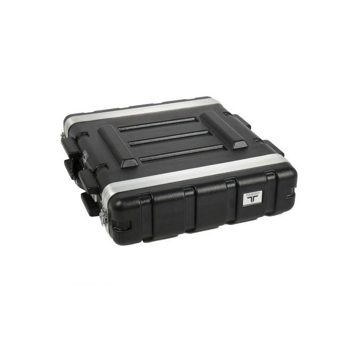 TOURTECH TTABS-2US ABS Four Unit 19 Inch Shallow Rack Case