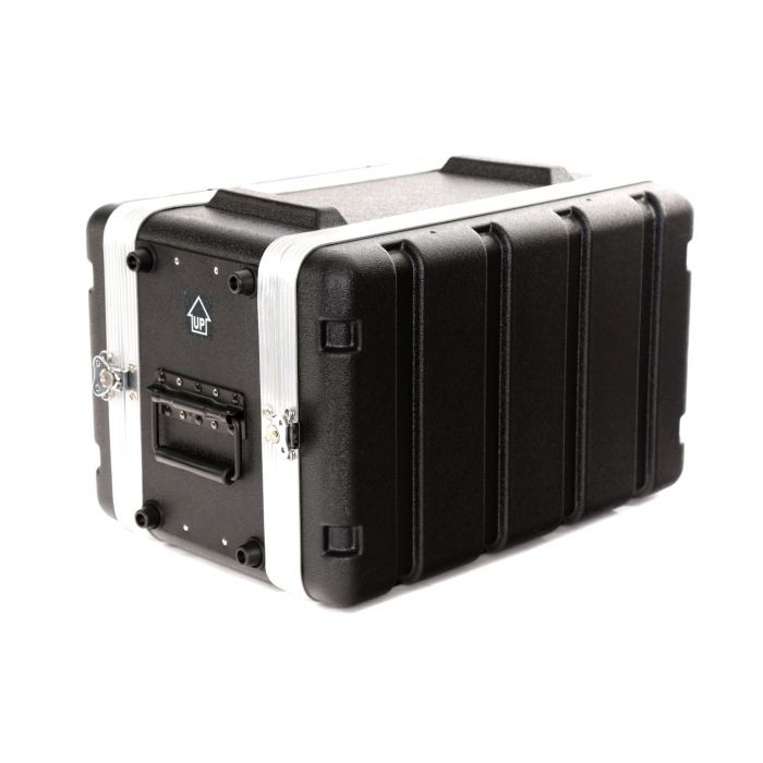 TOURTECH TTABS-6US ABS Six Unit 19 Inch Shallow Rack Case Other Angle