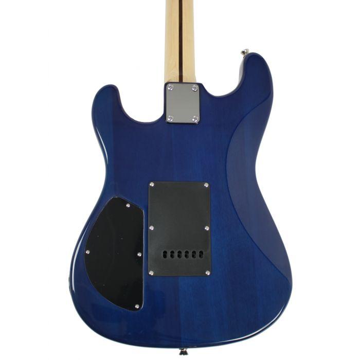 Eastcoast GS500-BB HSS Electric Guitar Blue Burst