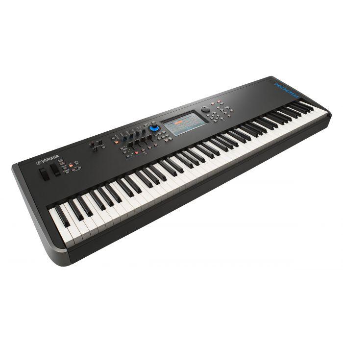 Yamaha MODX8 Synthesizer Left Angle