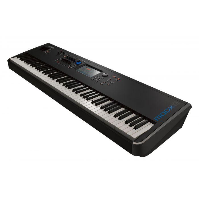 Yamaha MODX8 Synthesizer Right Angle