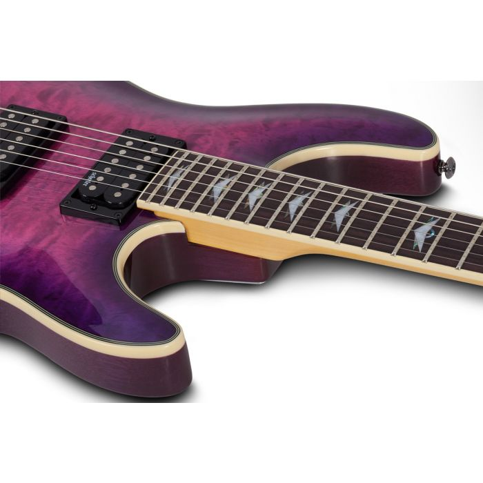 Schecter Omen Extreme Electric Magenta Electric Guitar