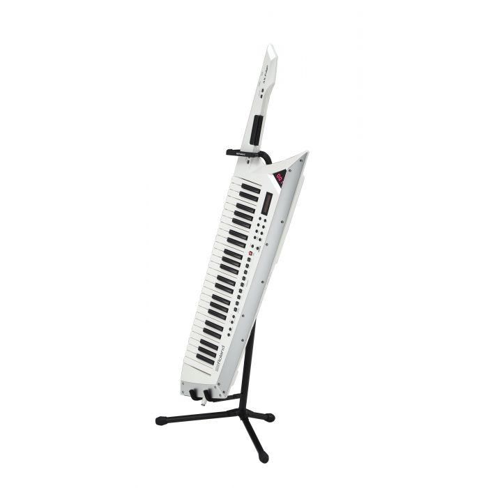 Roland ST-AX2 Keytar Stand with White AX-Edge