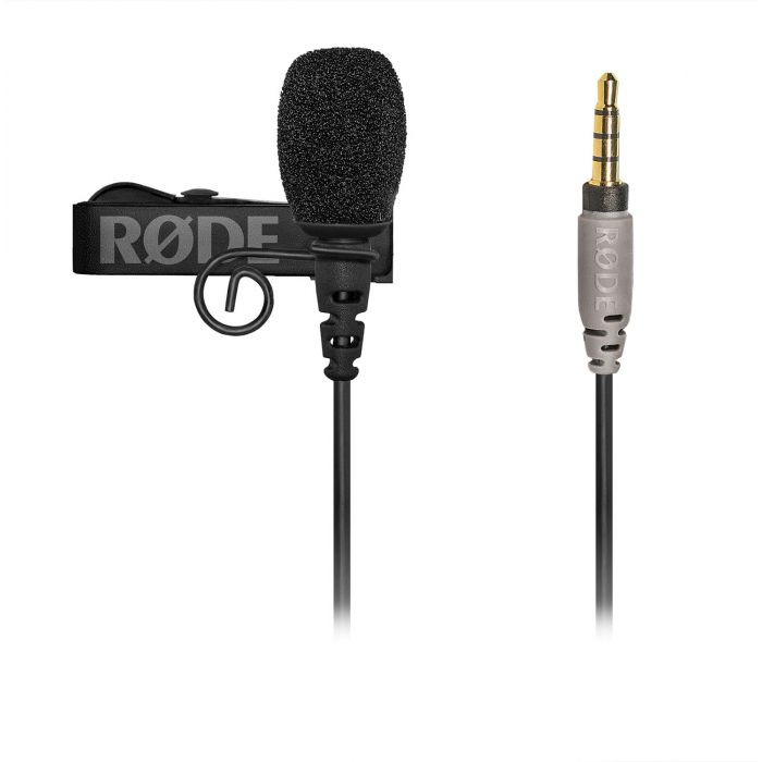 Rode SC6-L Mobile Interface Interview Kit for iOS Devices smartLav+ Microphone with Clip and Wind Shield