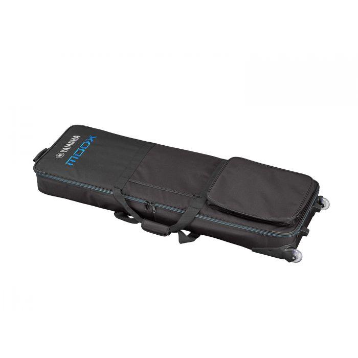 Yamaha MODX8 Soft Case with Wheels Angle
