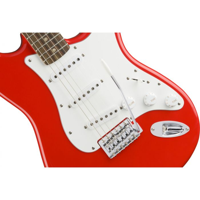Squier Affinity Stratocaster Laurel Race Red