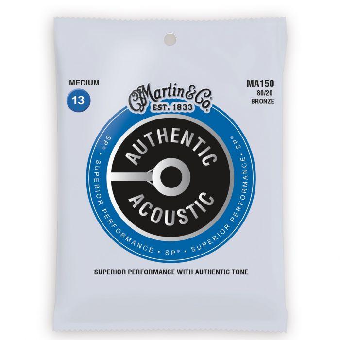 Martin Authentic Acoustic SP 80/20 Bronze Medium Guitar Strings