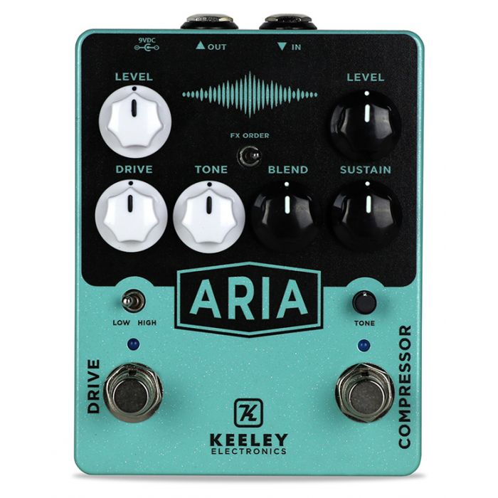 Keeley Aria Compressor Overdrive Boutique Pedal Stompbox