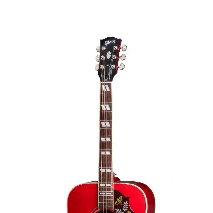 Gibson Hummingbird 2019 Vintage Cherry Sunburst Headstock