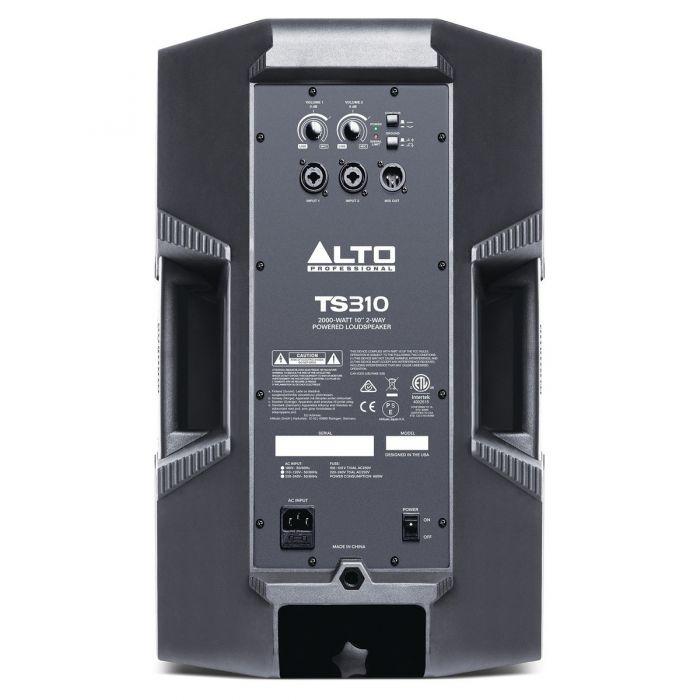 Alto Truesonic TS310 Rear Panel