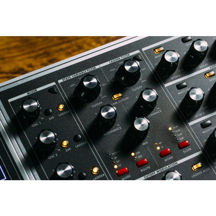 Moog One 16 Voice Analog Synthesizer Filters