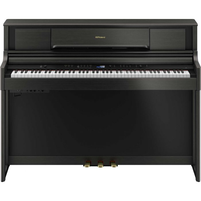 Roland LX705 Digital Home Piano Charcoal Black Front