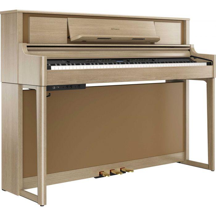Roland LX705 Digital Home Piano Light Oak