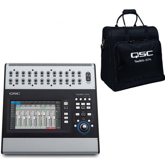 QSC Touchmix 30 with Tote Bag Bundle