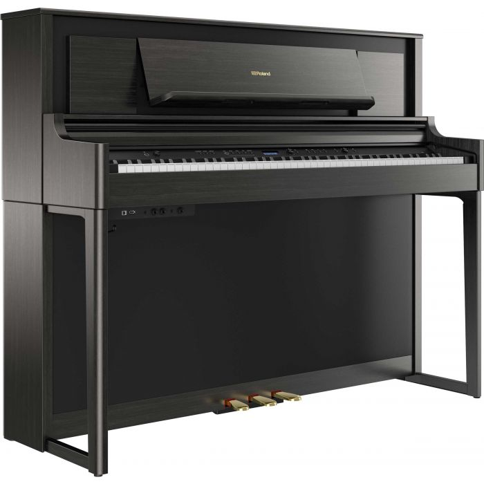 Roland LX706 Digital Home Piano Charcoal Black