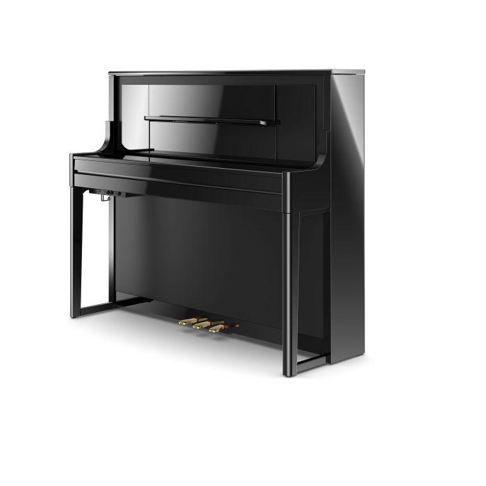 Roland LX708 Digital Home Piano Polished Ebony Closed Cabinet