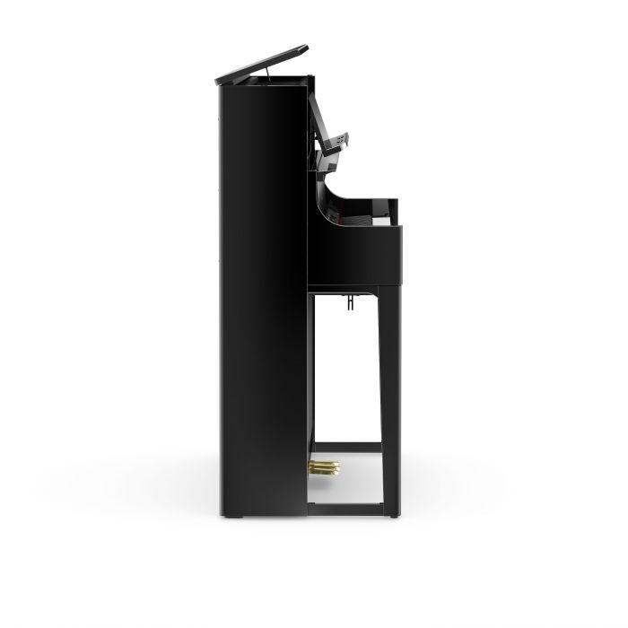 Roland LX708 Digital Home Piano Polished Ebony Left Side
