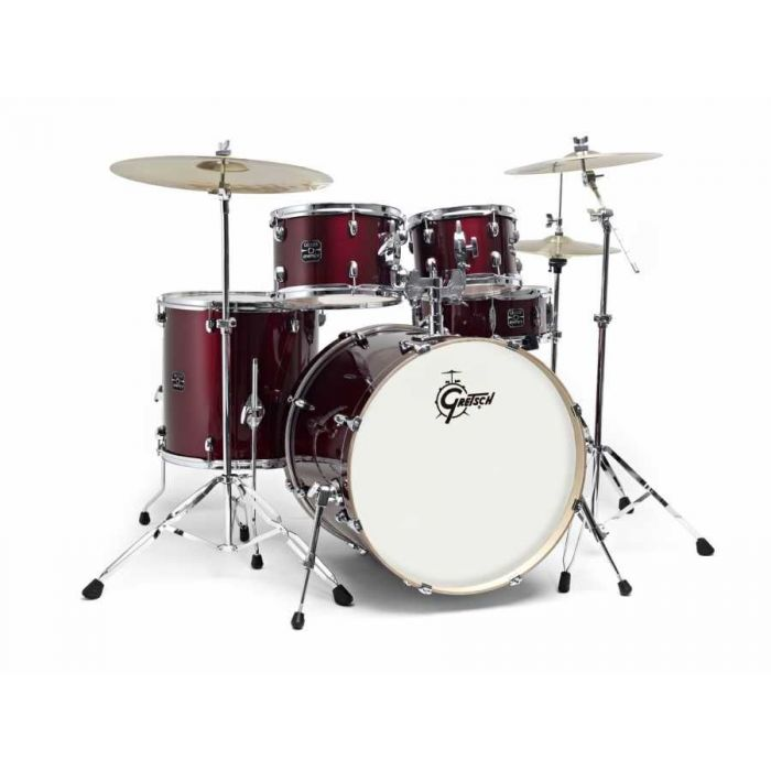 Gretsch Energy Wine Red Drum Kit