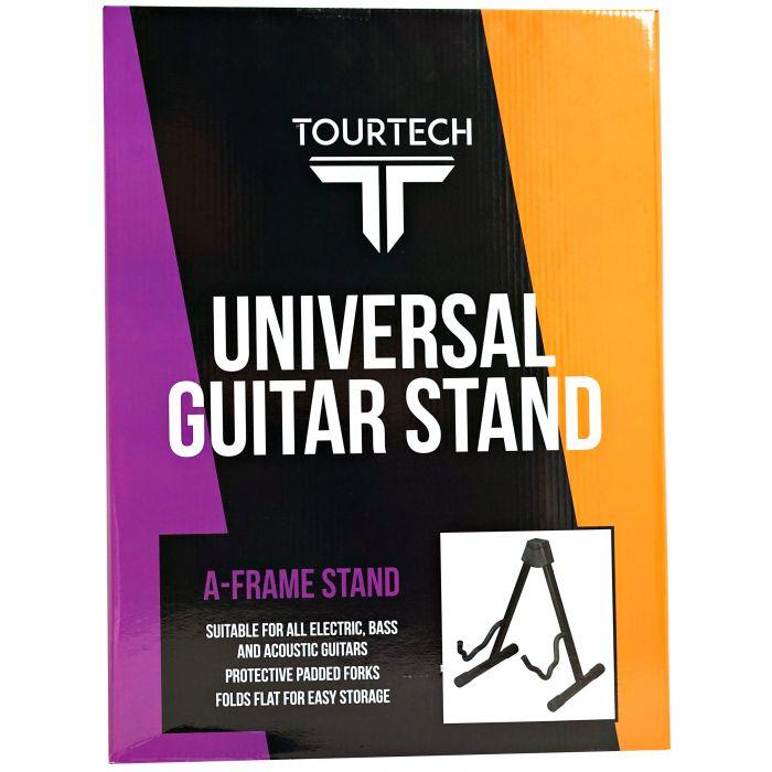 TOURTECH Foldable A-Frame Guitar Stand