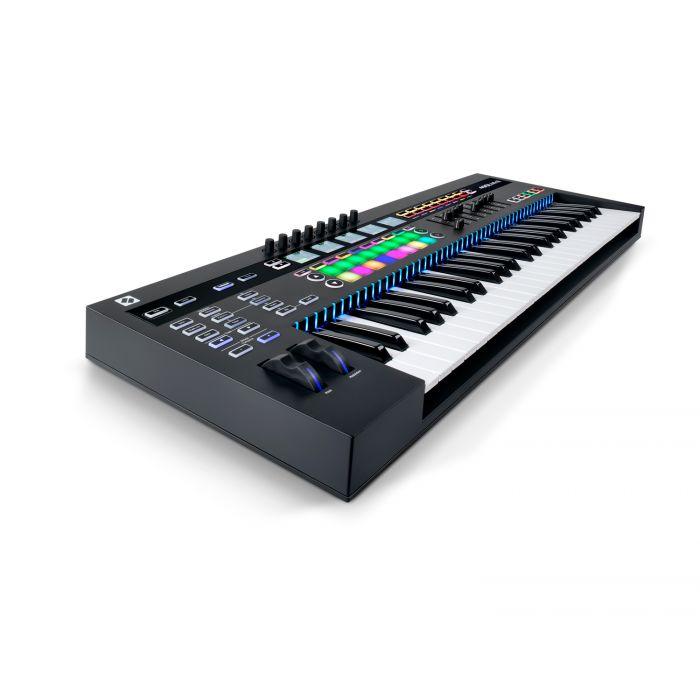 Novation 49 SL MkIII USB MIDI Keyboard Controller Angle