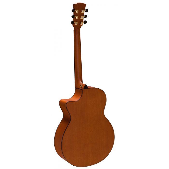 Faith FV-PERC Natural Venus Electro-Acoustic Guitar Back