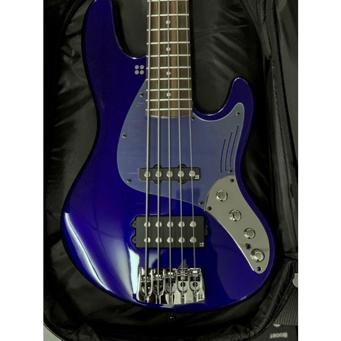 Sandberg California Grand Dark 5 String San Remo Blue