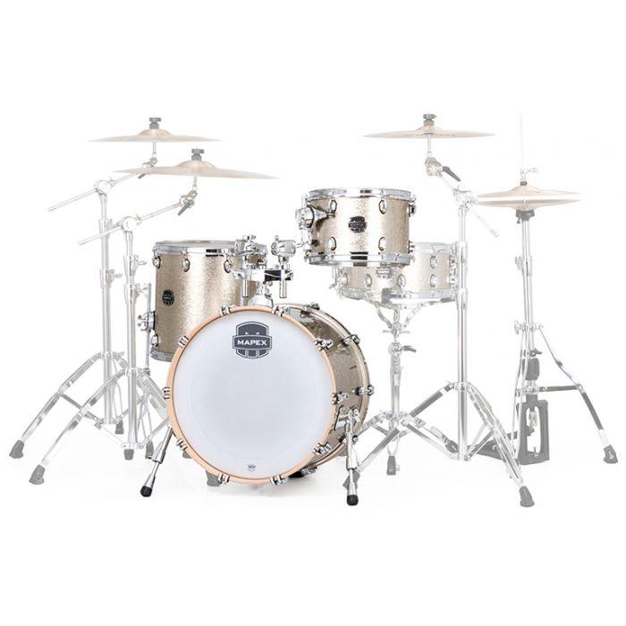 Mapex Saturn V Tour Vintage Sparkle Drum Kit