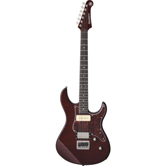 Yamaha Pacifica 611 Flame Maple Root Beer Hardtail Flame Maple
